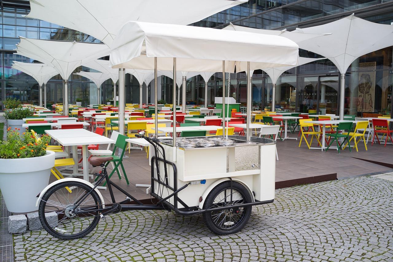 bike food de brigadeiro gourmet
